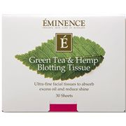 Green Tea & Hemp Blotting Tissues 30-pack
