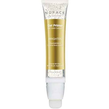 NuFace 24K Gold gel primer 2 oz tube Brighten