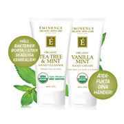 Hand duo - Tea Tree Hand cleanser och Vanilla Hand cream